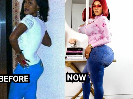Check Out The Past And Recent Photos Of This Curvy Nigerian Actress As She Is A Year Older Today