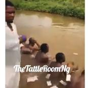 Prophet Spotted With His Members Performing Money Rituals In Anambra (Photos)