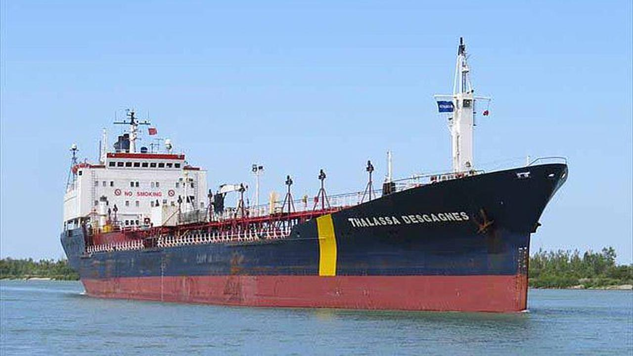 Oil tanker 'hijacked by Iranian forces' off the coast of UAE is now safe and boarders have left the vessel