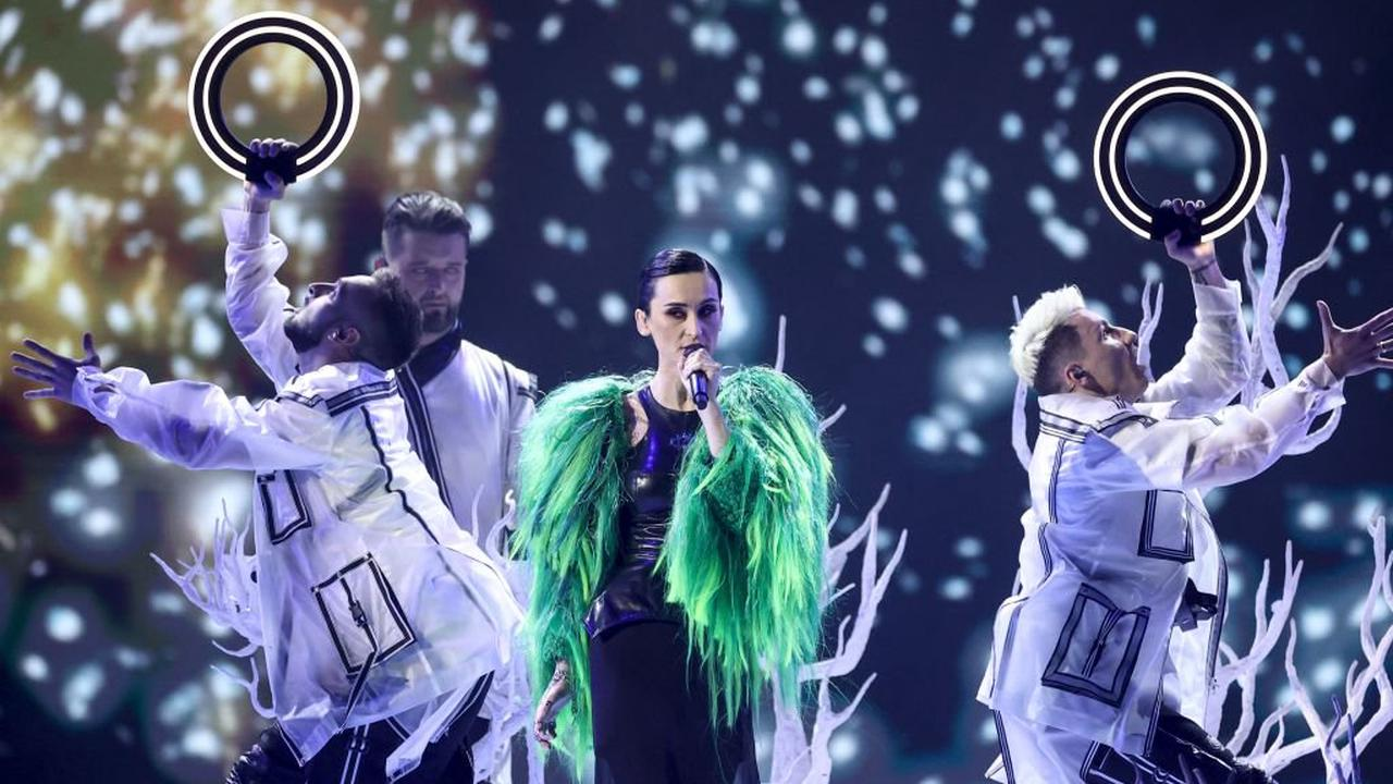 Eurovision makes glorious return with human disco balls and camp chaos