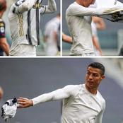 Cristiano Ronaldo jette le maillot de la Juve après le match: découvrez la raison