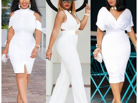 Stepout with style; See the best white outfits designs for all occasions