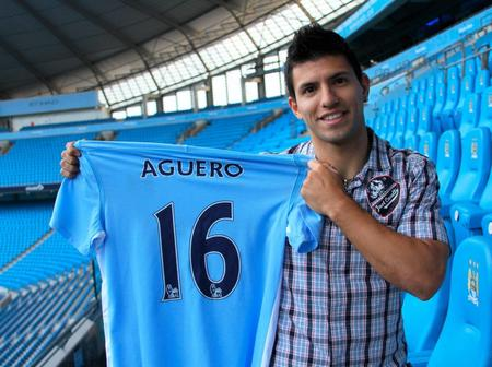 Inter Milan join Chelsea and Manchester United in the race for Sergio Aguero's signature