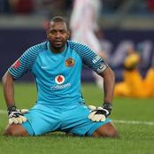 Bad news: Kaizer Chiefs ban Itumeleng Khune from the Club because of his bad behaviour on the bench.