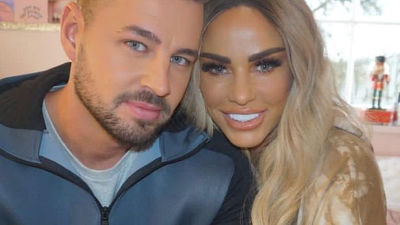 Katie Price celebrates one-year anniversary with Carl Woods with video montage