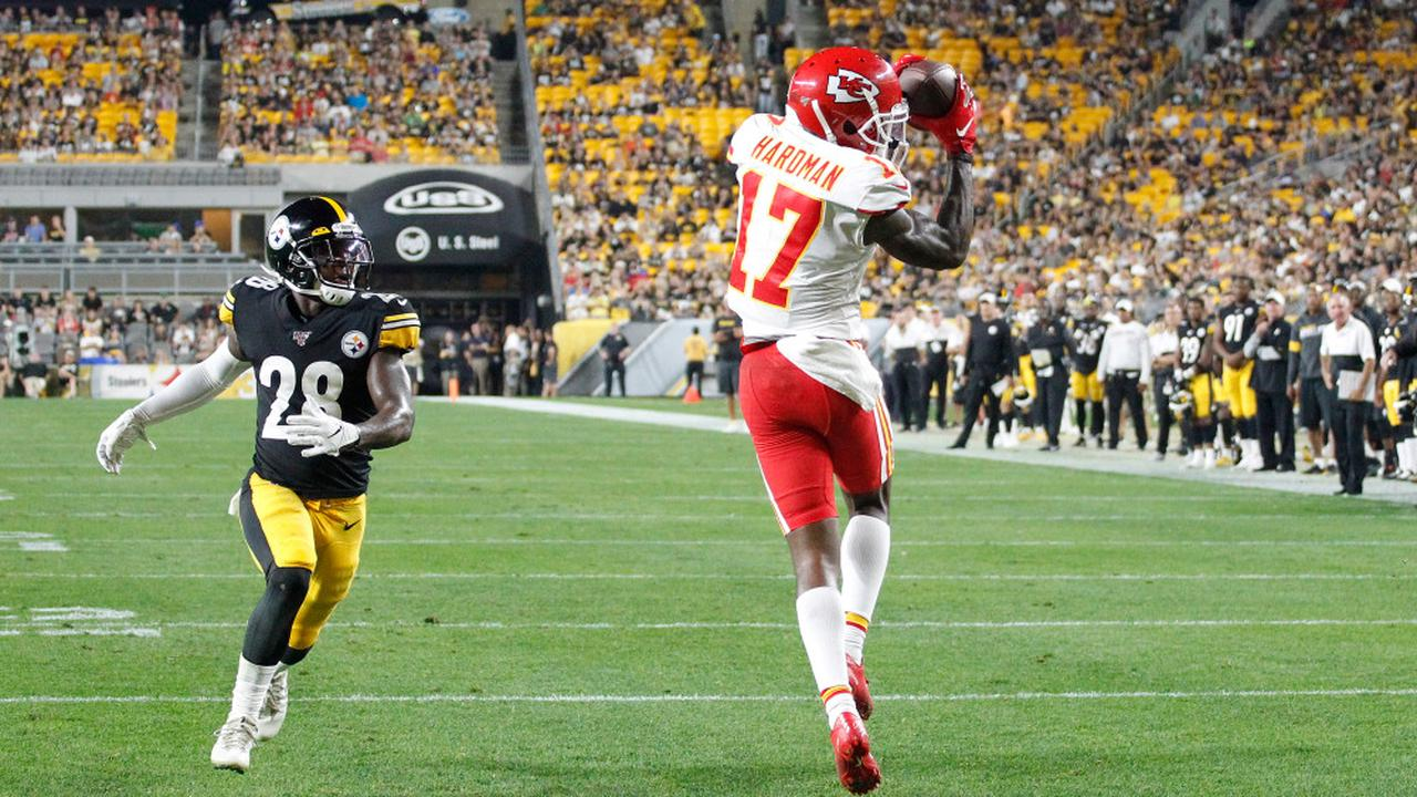 Chiefs' Mecole Hardman: Another mediocre showing