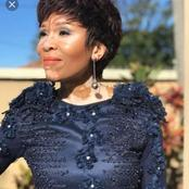 Imbewu Actress Leleti Khumalo Is Tired Of Hiding From Make Up As She Embraces Her Skin