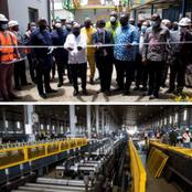 Nana Akufo-Addo commissions phase one of the B5 Plus Steel Plant today [Photos]