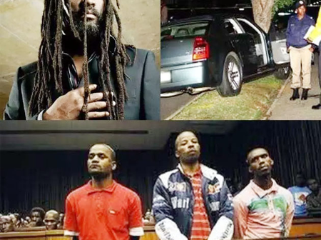 The painful demise of the reggae legend lucky Dube, see how he was killed by these 3 men
