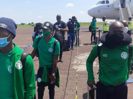 Bloemfintein Celtic have touched down in DRC ahead of their match against Manien Union
