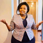 Jubilee Nominated Senator Millicent Omanga Hospitalized In Nairobi Hospital Of Undisclosed Illness