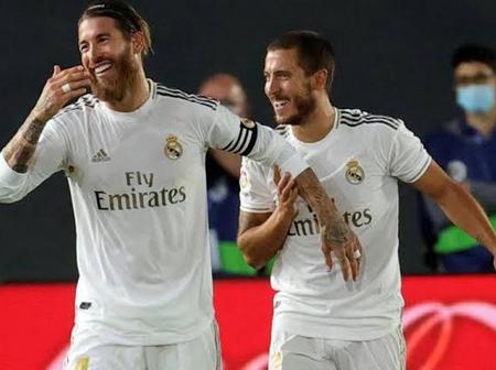 OPINION: 2 Reasons Why Real Madrid Will Find It Difficult To Win Game Without Ramos And Eden Hazard.