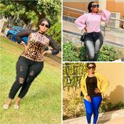31 Photos Of Curvy Ghanian-Born Kannywood Actress, Safiya Yakubu.