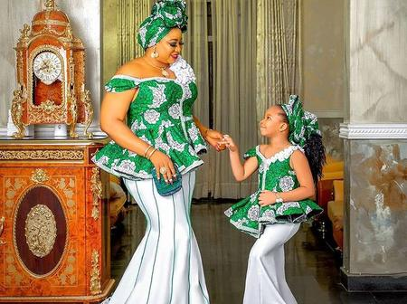 Mothers, check out these beautiful and exceptional ankara styles to rock with your daughter