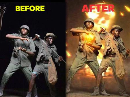 Check Out 'Before' and 'After' Photo Effects that Will Make You Appreciate the Work of Art.