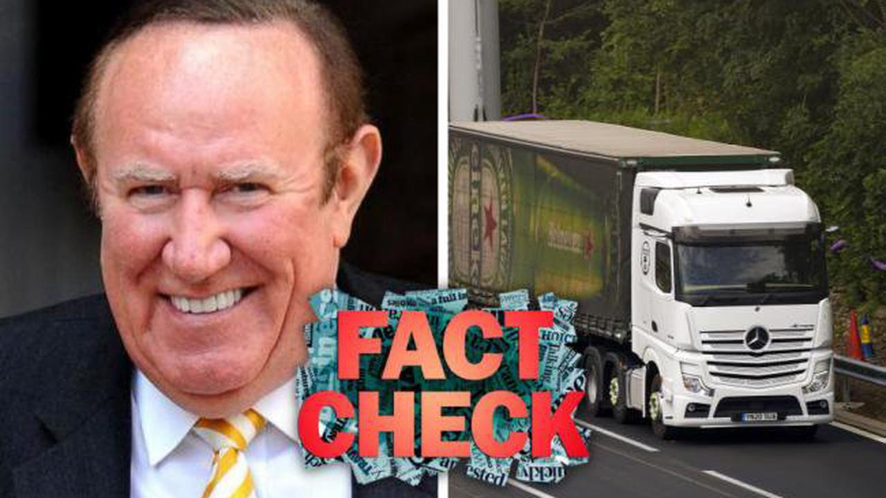 FACT CHECK: Andrew Neil's Brexit supply chain claims from Question Time