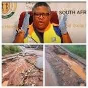 R555 road should be fixed by Limpopo, says Fikile Mbalula