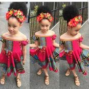 New attires: fashionable ankara style for baby girl