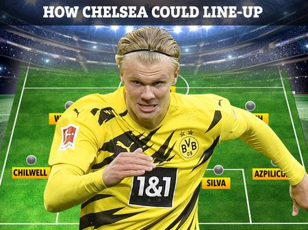 How Chelsea Could Line-up With Erling Haaland