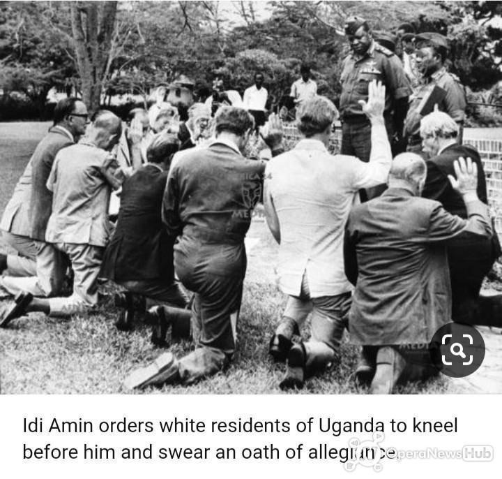 Picture: See the African leader that ordered white men to kneel ...
