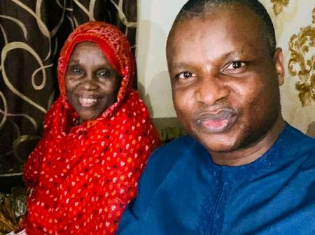 A Week After He Was Alleged Of Extortion, See Lovely Photos Of Abba Kyari And His Aged Mother