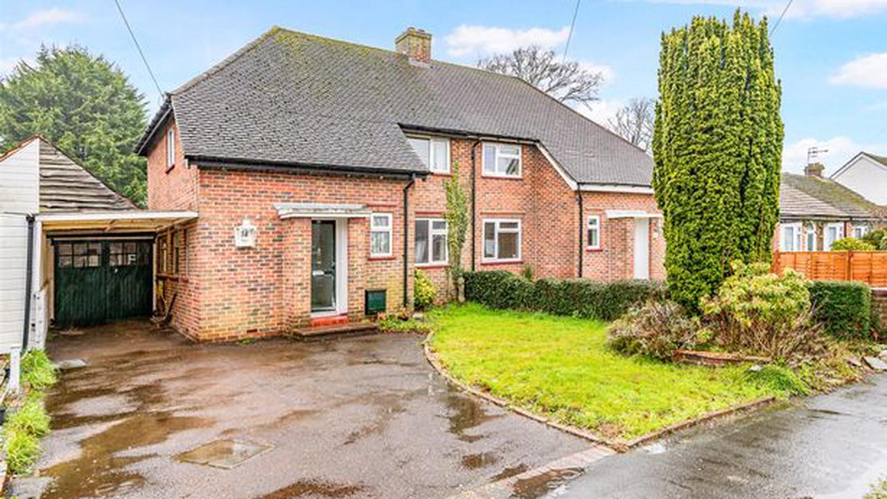 4 Surrey homes for sale with potential to develop or do up