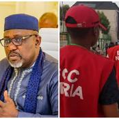 Mixed Reactions as EFCC arrested Rochas Okorocha over alleged money laundering