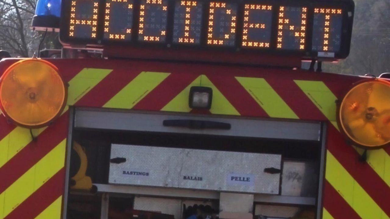 Mers-les-Bains : une conductrice perd le contrôle après une chute d'objet dans sa voiture