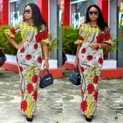 Stylish And Attractive Ankara Long Gown For Beautiful Women