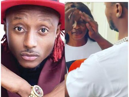 Birthday Goals: Singer Terry G Wipes Mum's Face In Video As They Celebrate Together