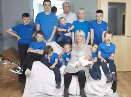 Give birth to 10 sons in succession, give birth to a daughter as expected