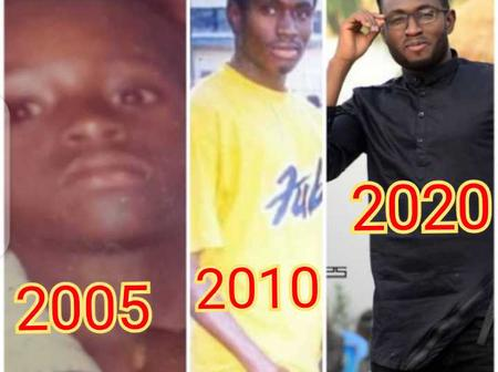 Check Out The Recent And The Throwback Photo Of Actor Sadiq Sani Sadiq