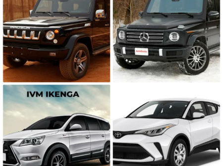 God Bless Innoson; Checkout Innoson cars that can match Mercedes-Benz and Toyota