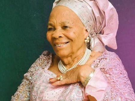 Meet the 92 years old mother of Nigerian billionaire, Tony Elumelu