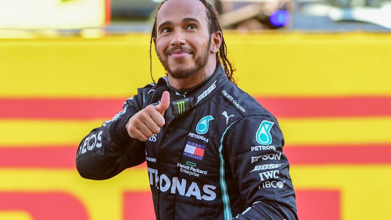 """GP de F1 de Toscane: Hamilton """"épuisé mais fantastique d'avoir gagné"""""""