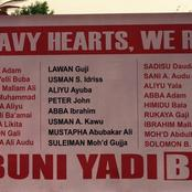 On this day 2014, Boko Haram attacked FGC Buni Yadi and killed 59 boys- see the list of boys killed.