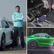 Inside Eden Hazard Garage : See 7 luxurious Cars Owned By Madrid Superstar