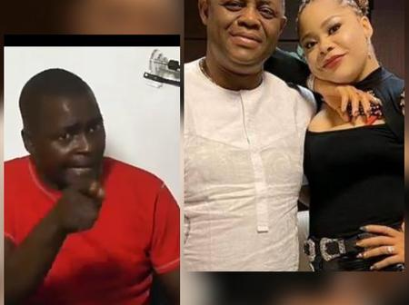 We caught FFK's wife, Precious naked with another man- FFK's former bodyguard, Bako(video)