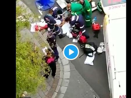 Watch Video Of the Person Who Fell Of the 10th floor of Hotel in Cape Town: See This (Opinion)