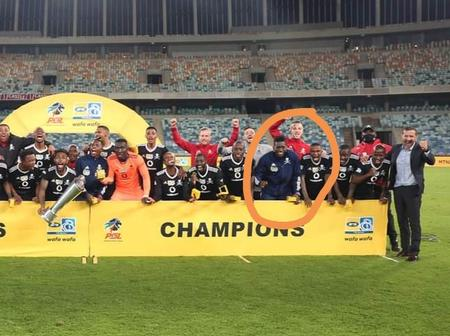 Lucky Player Who Received A Medal Without Playing A Single Minute For Orlando Pirates [OPINION]