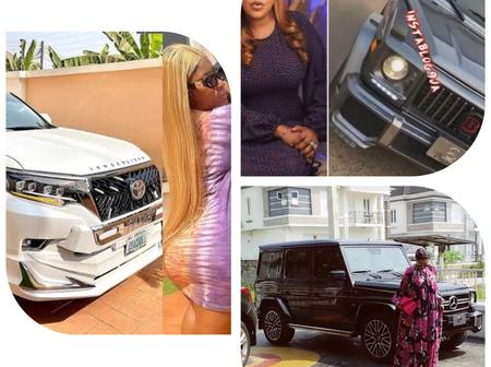 5 Nollywood actresses who bought new cars worth this 2021 (photos)