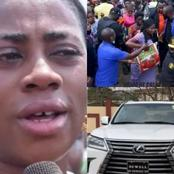 See What This Prophetess Did With Alleged N60 Million Car That Got People Talking.