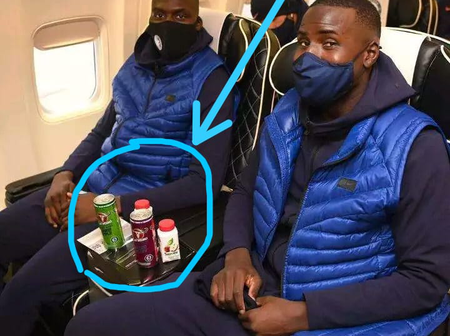 See what was spotted between Mendy and Zouma as the team jet to France for the UEFA Champions league