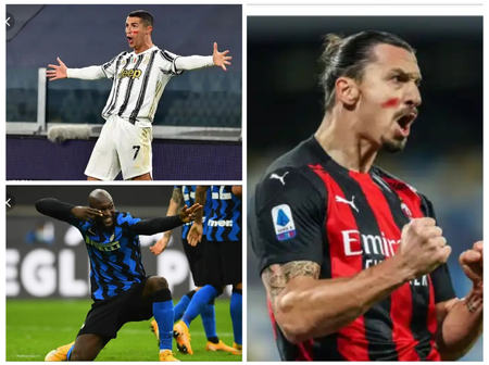 'Ronaldo, Ibrahimovic Or Lukaku' -  Serie A On Fire As The Race For Serie A Golden Boot Continues