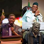 """We Are Praying For You And I Believe God Is Going To Answer""— Pastor Adeboye Tells El Rufai"