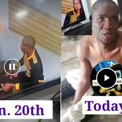 Weeks After He Caught Stealing An iPhone On CCTV, See What He Was Caught Doing Today(Video)
