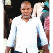 4 pictures of Mazi Nnandi Kanu when he was arrested.