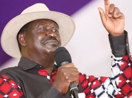 Raila Opens Up On His Covid-19 Status