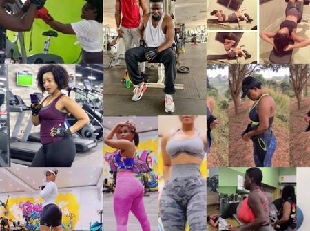 Photos of your favorite celebrities in Gym that will motivate you to work out