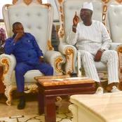 Sunday Igboho visits Gani Adams (PHOTOS)